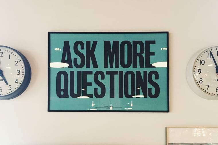 """Featured image for """"Leveraging the Power of Great Questions"""""""
